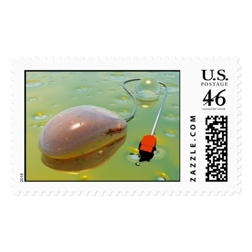 mousepad postage stamps