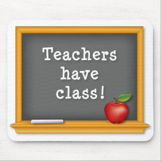 ¡Mousepad, profesores tiene clase! Pizarra, Apple Tapete De Ratones