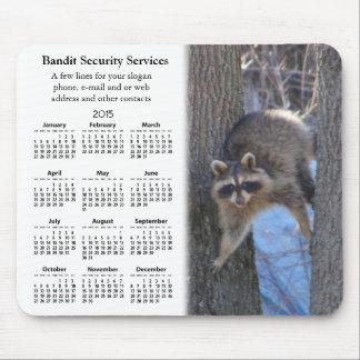 Mousepad promocional del del calendario del Coon