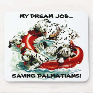 MOUSEPAD PROMOTES INTERST IN DALMATIAN RESCUE!