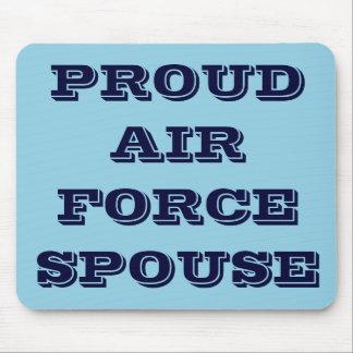Mousepad Proud Air Force Spouse