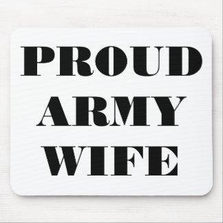 Mousepad Proud Army Wife