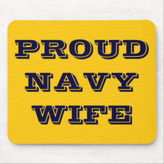 Mousepad Proud Navy Wife