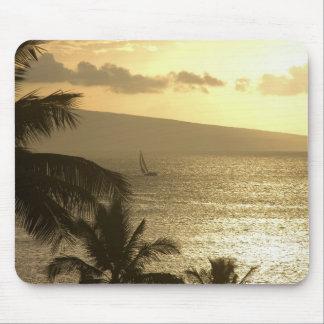 Mousepad: Puesta del sol #1 de Lahaina Tapetes De Ratones