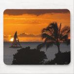 Mousepad - puesta del sol hawaiana tapete de ratón