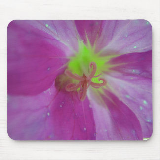 Mousepad purple bloom center with lightgreen star