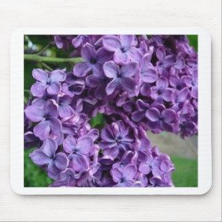 mousepad púrpura de la lila