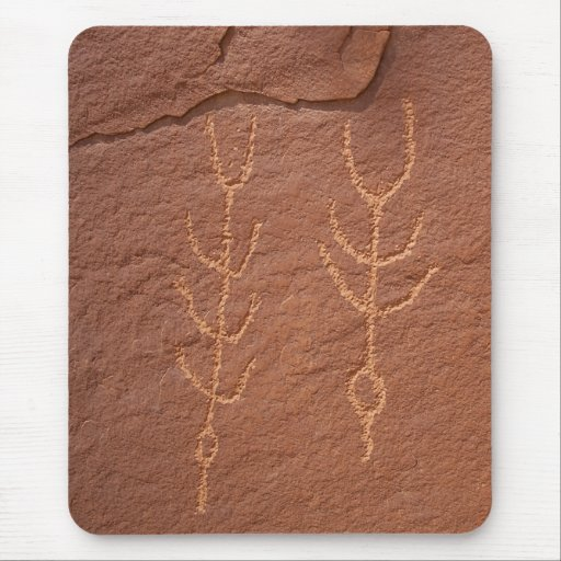 Mousepad que ofrece Utah Petrogylphs Alfombrilla De Raton