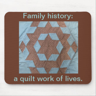 Mousepad - Quilt Work of Lives