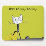 Mousepad ratonil aquí ratonil alfombrilla de ratones
