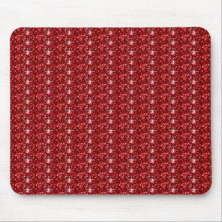 Mousepad  Red Dark Glitter