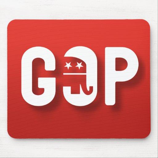 Mousepad republicano alfombrillas de raton