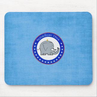 mousepad republicano del polluelo