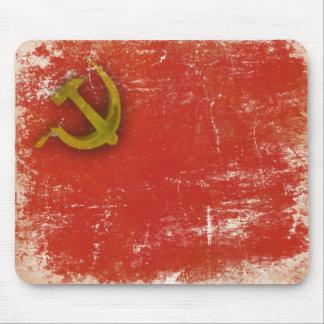 Mousepad retro con la bandera vieja sucia de Unión Tapetes De Raton