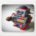 Mousepad retro del robot tapetes de raton