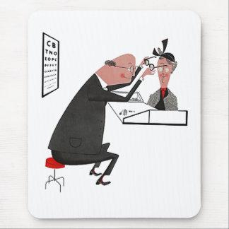 Mousepad Retro Mid-Century Eye Doctor Office