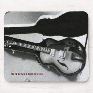 """Mousepad """"Rock´n roll is here tons stay! """""""