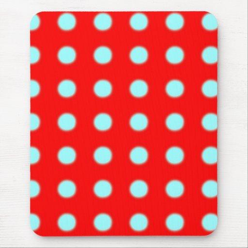 Mousepad rojo y azul