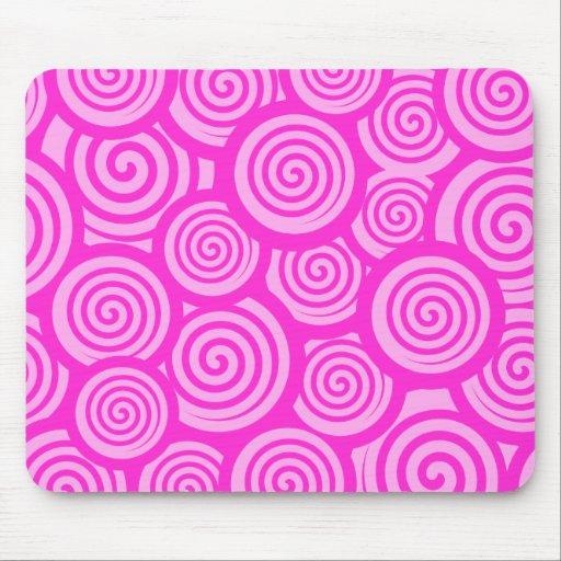 Mousepad rosado lindo alfombrilla de ratón