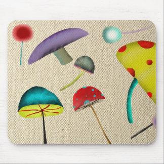 Mousepad salvaje psicodélico fofo de 1969 amores d alfombrillas de raton