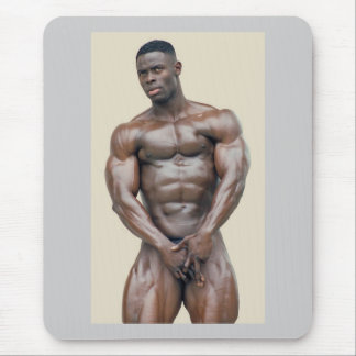 Mousepad, Sam Addo, bodybuilder S39B Mouse Pad