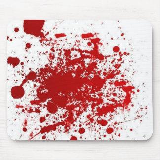 Mousepad sangriento