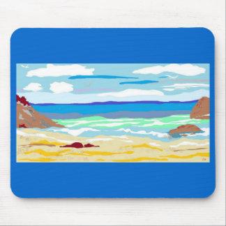mousepad seashore