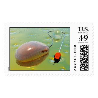 mousepad sello postal