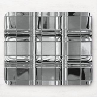 Mousepad Shades of Gray Glass Mosaic