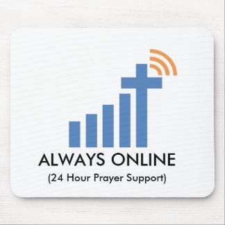 Mousepad siempre en línea