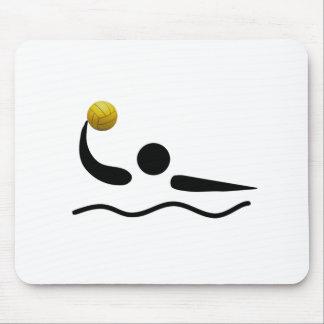 MousePad - símbolo del deporte del water polo