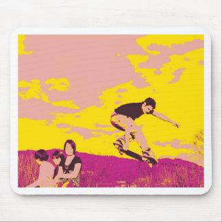 mousepad skater pop art