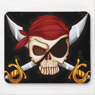 "Mousepad ""Skull pirate """