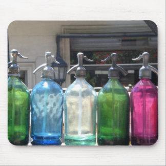 Mousepad soda bottles