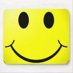 Mousepad sonriente de la cara tapete de raton