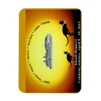Mousepad Souvenir Rectangular Photo Magnet