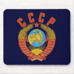 Mousepad soviético del escudo de armas CCCP Alfombrillas De Ratón