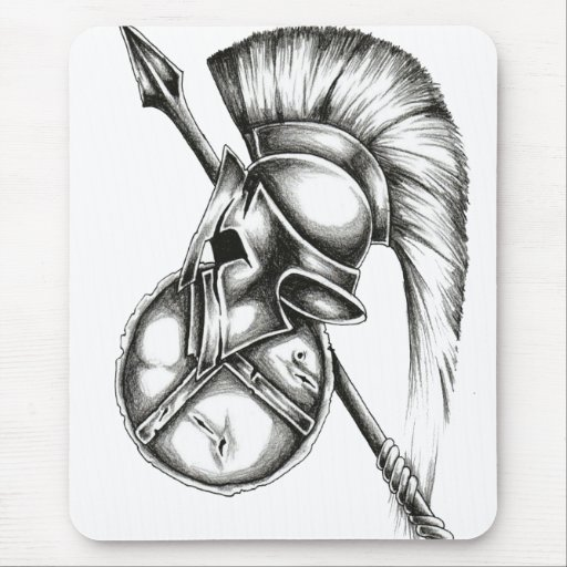 mousepad spartan