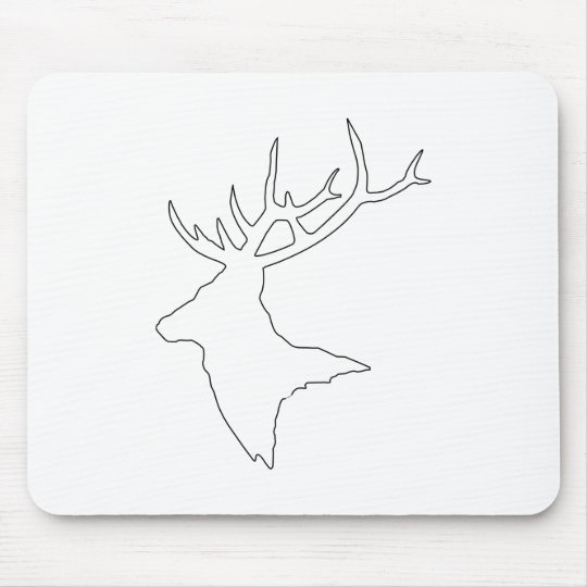 Mousepad > stag! [black outline]