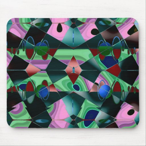 Mousepad Stained Glass Mousepad