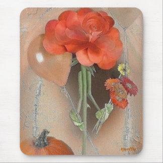 Mousepad subió otoño de Rosegifts