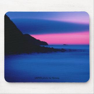 Mousepad / Sunset, Buldir Island Alaska