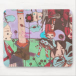 mousepad surrealista del faustine tapetes de ratones