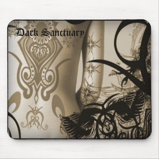 mousepad tattoo, Dark Sanctuary
