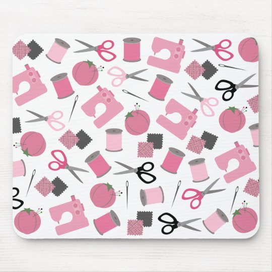 Mousepad temático de costura