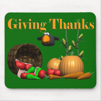 Mousepad - Thanksgiving Giving Thanks