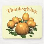 Mousepad - Thanksgiving Pumpkin Patch