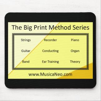 Mousepad The Big Print Method Series
