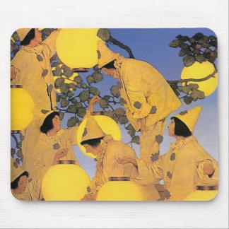 Mousepad: The Lantern Bearers - Maxfield Parrish