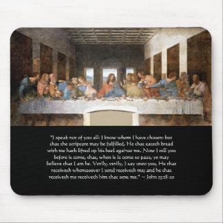 Mousepad - The Last Supper John 13:18-20
